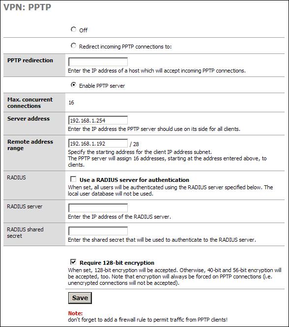 Mpd настройка vpn сервер radius движок сайта на ajax