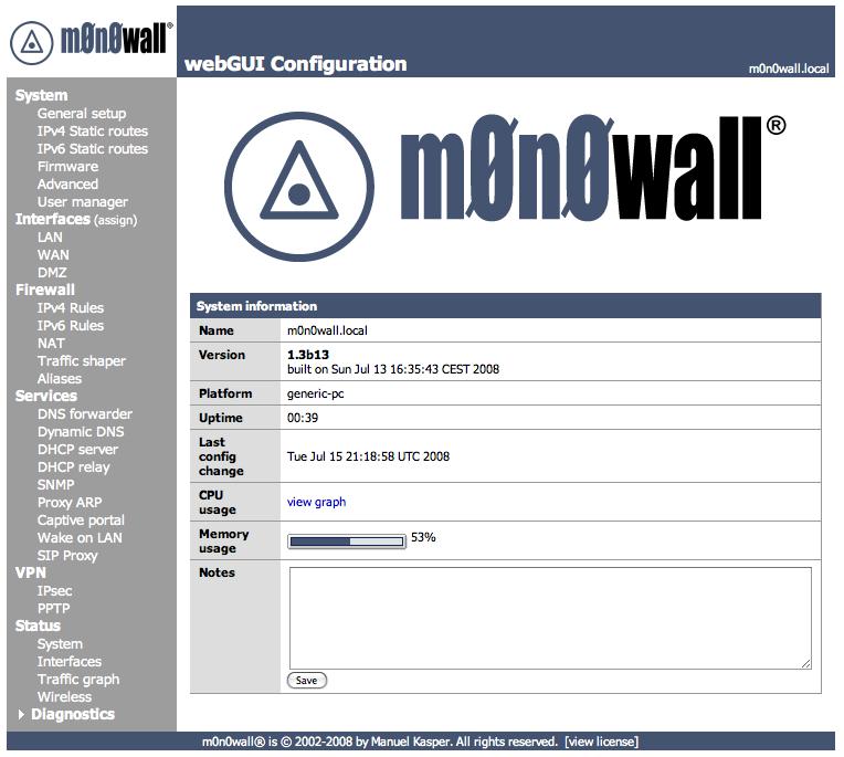 m0n0wall Handbook